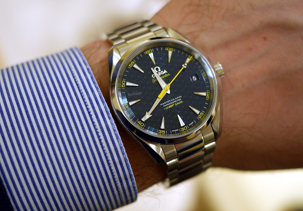 Omega Seamaster Aqua Terra 150M Edition Limitee James Bond