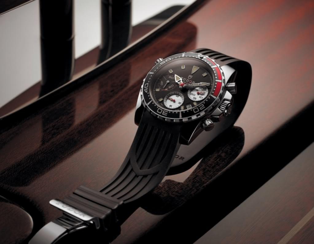 Steel Case Tudor Grantour Chrono Replica Watch
