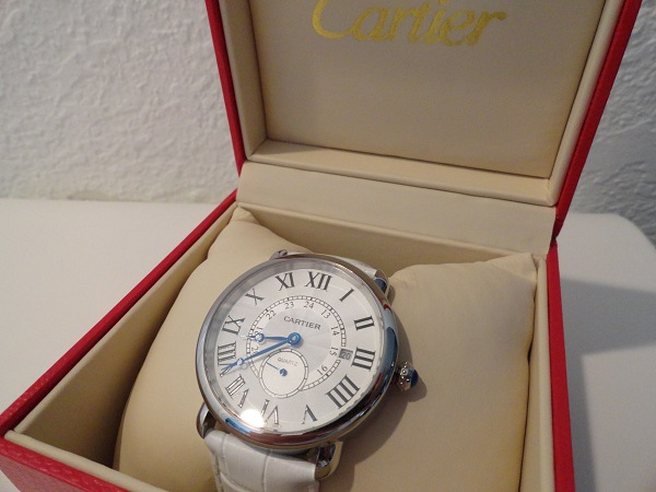 Cartier Ronde Louis Fake Watch