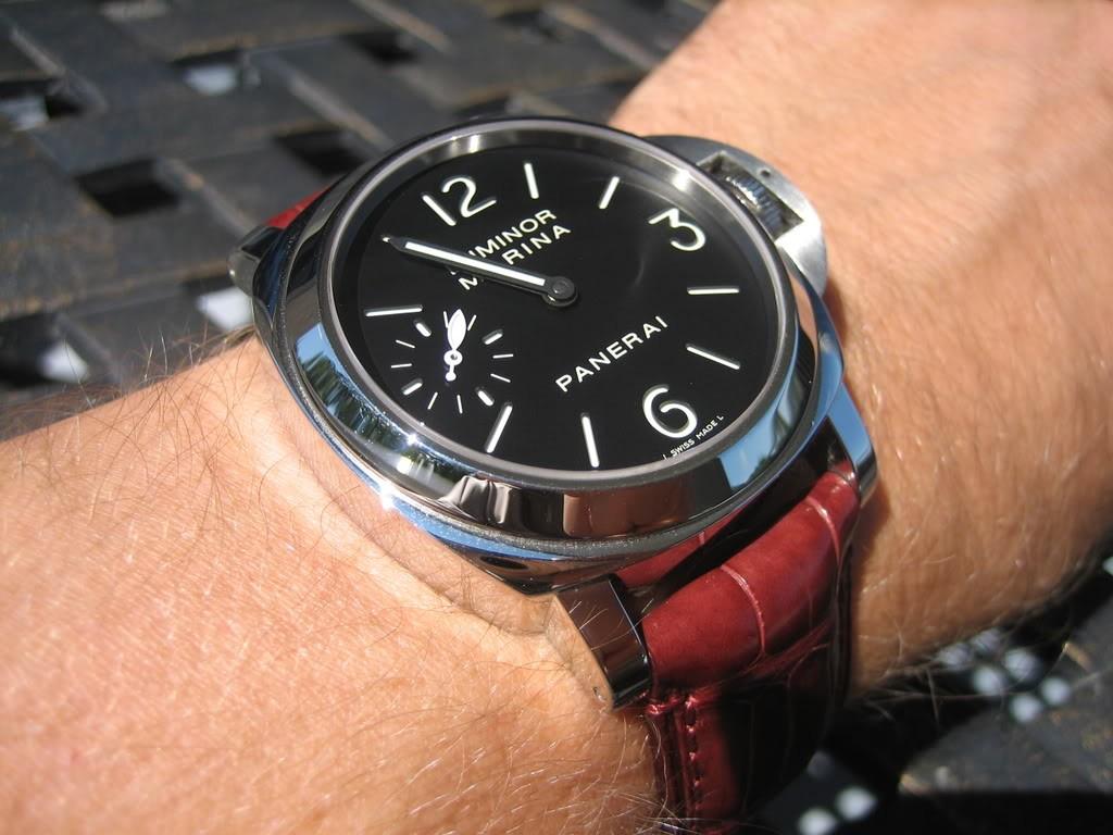 44mm Panerai Luminor Marina Acciaio Replica Watch High Quality