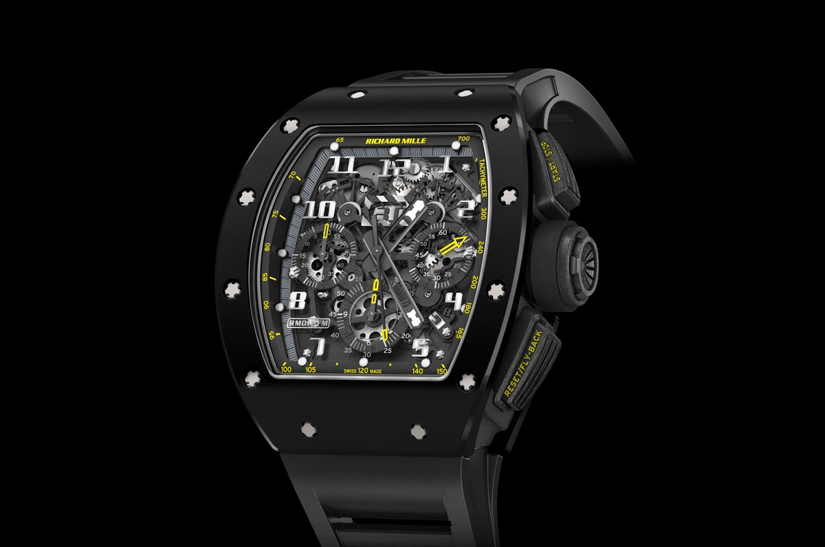 ed4fb3a03c5 Best Richard Mille Felipe Massa RM011 Americas 5 Replica Watch ...