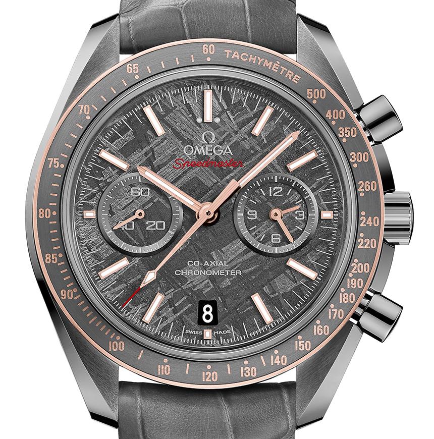 Omega Speedmaster Grey Side Of The Moon Meteorite Watch Watch Releases
