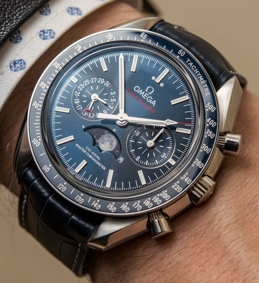 Omega Speedmaster Master Chronometer Chronograph Moonphase Watches Hands-On Hands-On