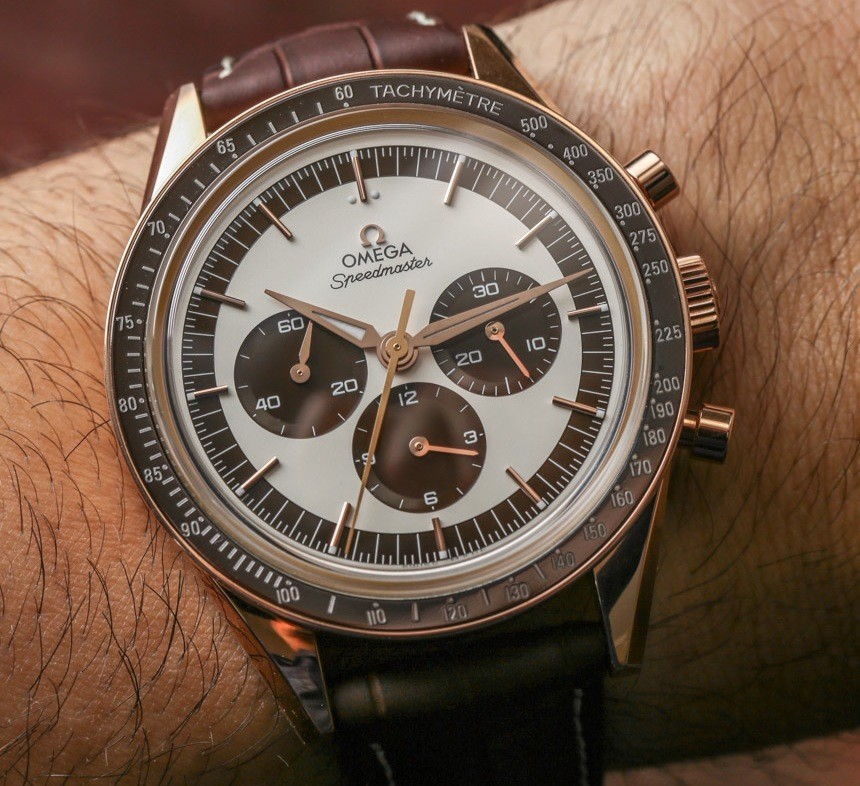 Omega Speedmaster Moonwatch Numbered Edition 'First Omega In Space' Watch Review Wrist Time Reviews