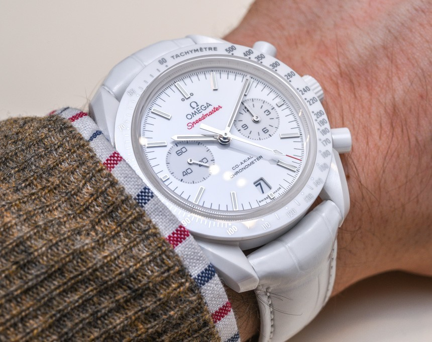 Omega Speedmaster White Side Of The Moon Watch Hands-On Hands-On