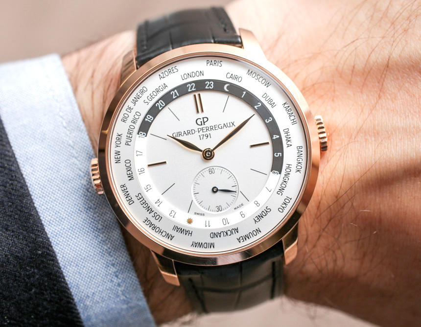 Girard-Perregaux 1966 WW.TC Watch Hands-On Hands-On