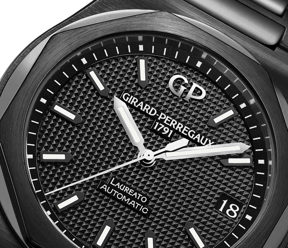 Girard-Perregaux Laureato 42mm Ceramic Watch Watch Releases