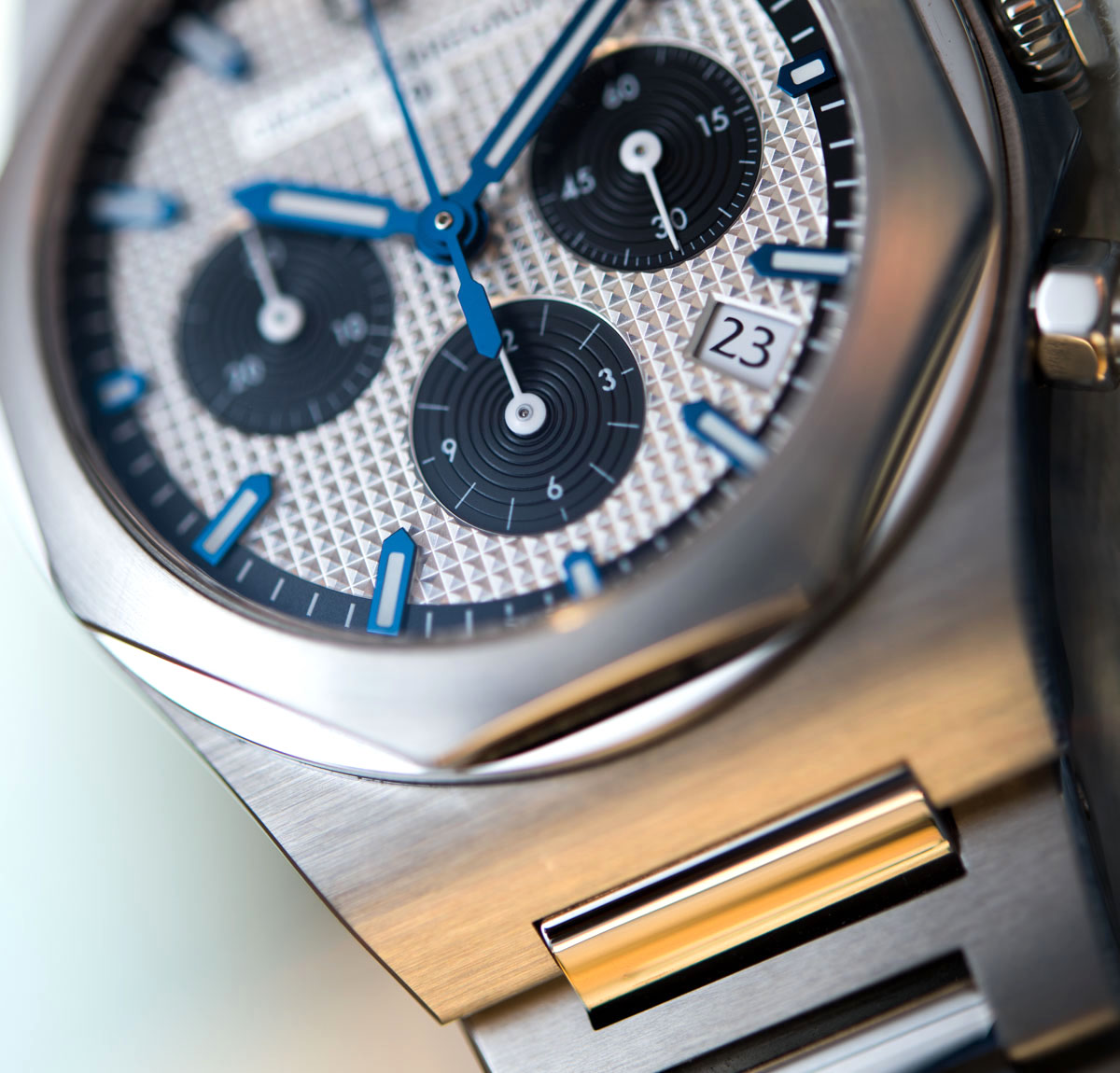 Girard-Perregaux Laureato Chronograph 38mm Watch Review Wrist Time Reviews