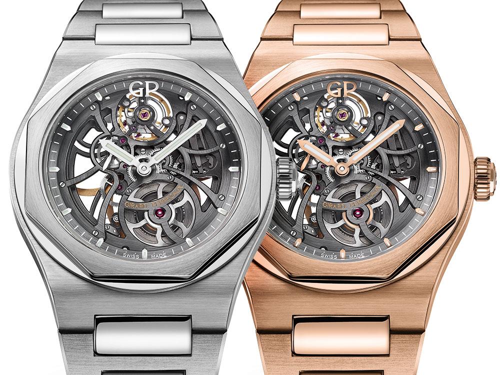 Girard-Perregaux Laureato Skeleton Watch Watch Releases