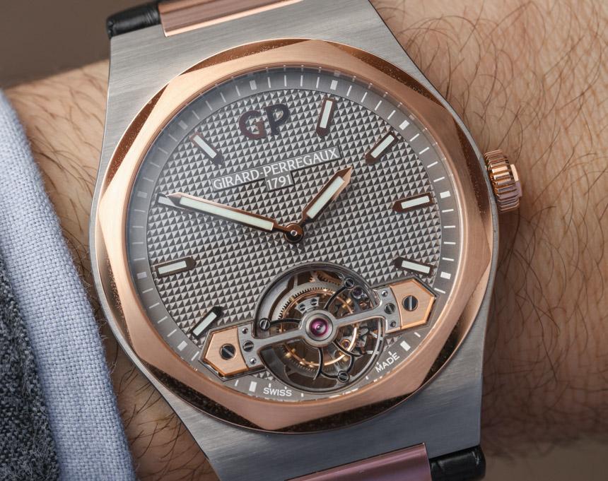 Girard-Perregaux Laureato Tourbillon Watch Hands-On Hands-On