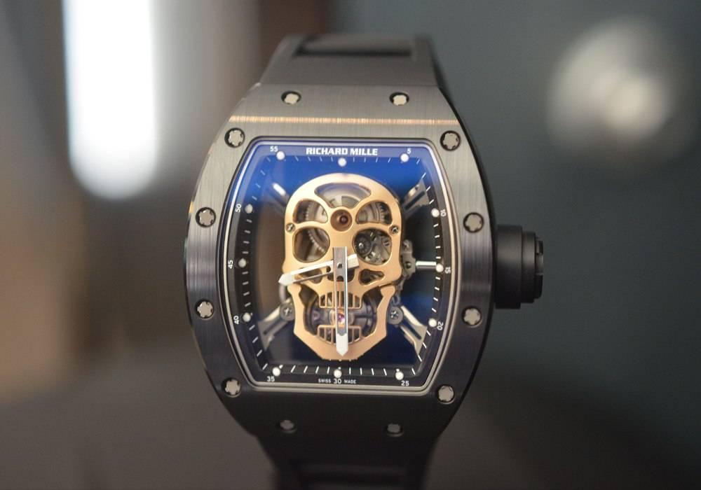 Richard Mille RM 52-01 Tourbillon Skull Nano Ceramique