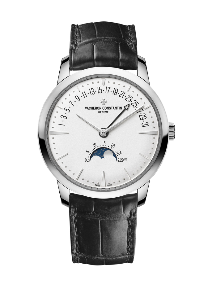 Vacheron Constantin Patrimony Moon Phase Retrograde Date and Traditionelle Minute Repeater Tourbillon Replica Watch