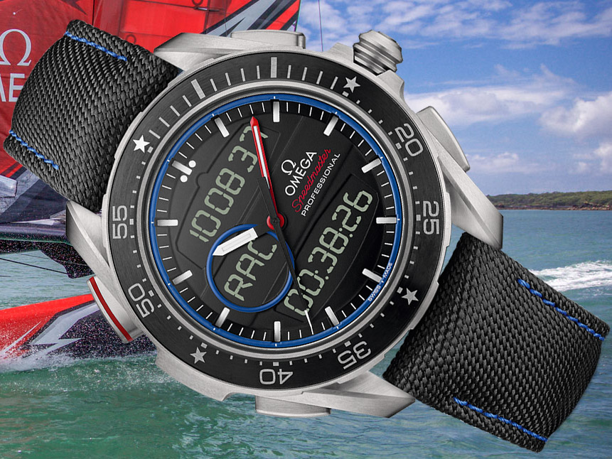 Omega Speedmaster X-33 Regatta ETNZ Limited Edition Watch Watch Releases