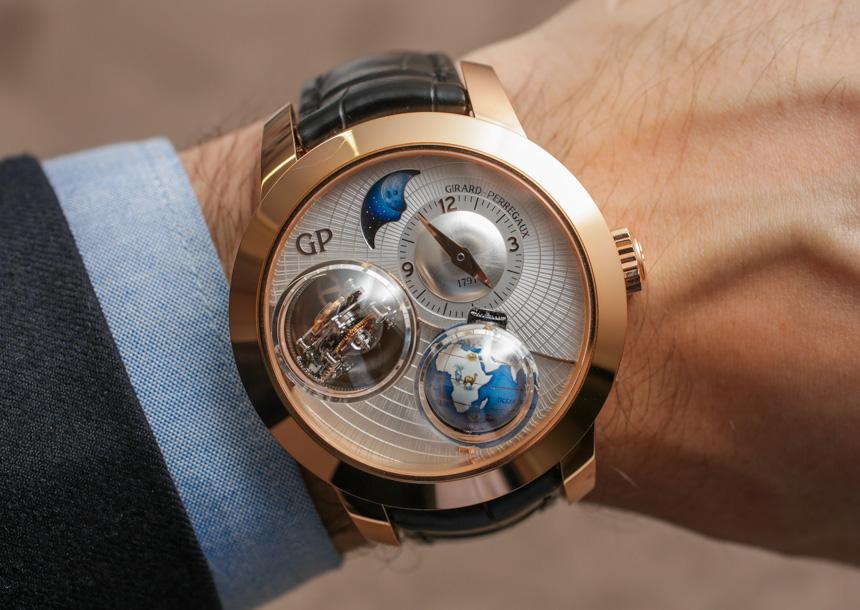 Girard-Perregaux Tri-Axial Planetarium Watch Hands-On Hands-On